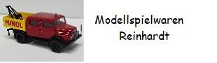 Modellspielwaren Reinhardt-Logo