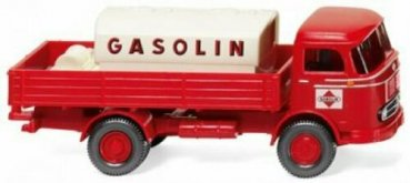 1/87 Wiking MB LP 321 mit Tank Gasolin 0438 04