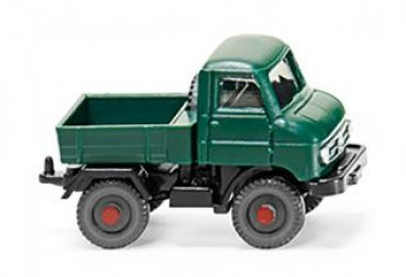 1/160 Wiking Unimog U 411 moosgrün 0972 04