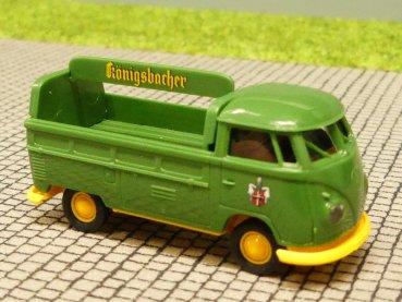 1//87 Brekina # 1442 VW T1b Samba hellgrau//rot 31824