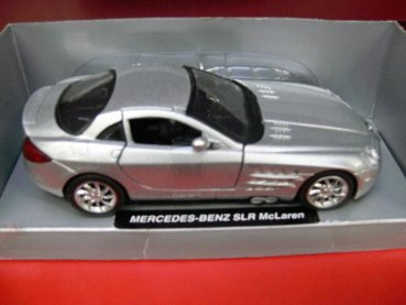 1/32 New Ray MB SLR McLaren silbermetallic 52293