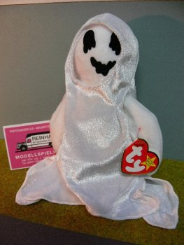 TY 61 Beanie Baby Gespenst Sheets ca.17 cm