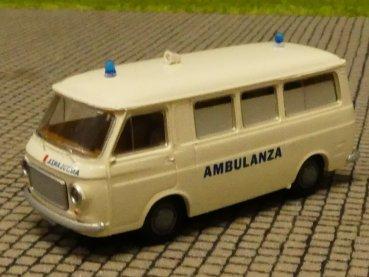 1//87 Brekina Fiat 131 mit Rechteckscheinwerfer orange 22606