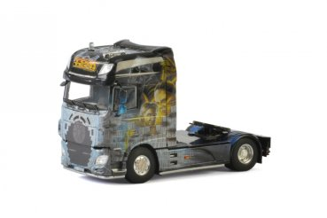 1/50 WSI DAF XF Super Space CAB 4x2 Tom Tech 2-Achs ZM 01-2046