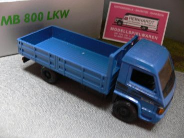 1/43 NZG MB 800 Pritschen Lkw blau No.445 Made in Germany