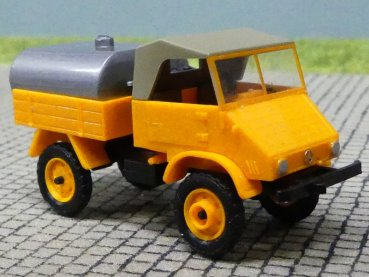 1/87 Epoche Unimog 411 Sprengwagen orange 20414