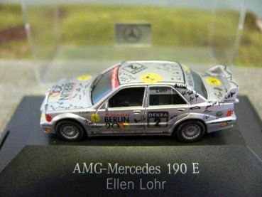 1/87 Herpa MB 190 E Evo II AMG DTM '93 Lohr #2 167727 ohne Verpackung