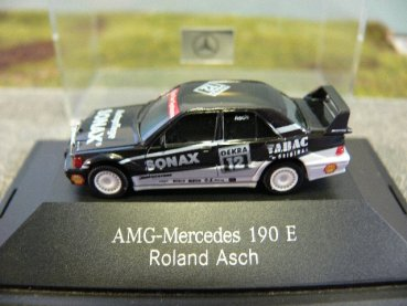1/87 Herpa MB 190 E Evo II AMG DTM '93 Asch #12 167802 ohne Verpackung