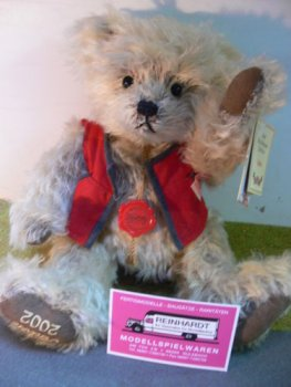 HB 19 Hermann Bamberg Teddy Anton ca.30 cm Made in Germany