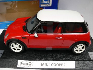 1/12 Revell Mini Cooper rot Dach weiss 08451