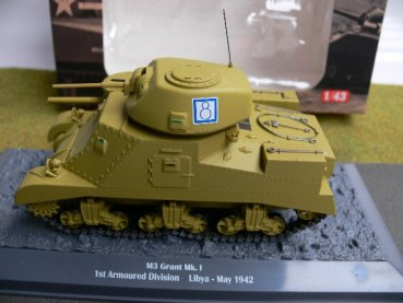 1/43 Ixo M3 Mk.I 1st Armoured Division Lybien 1942 Panzer 36