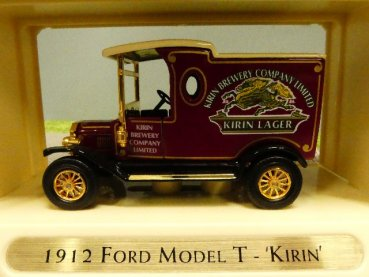 Matchbox Yesteryear Ford Model T 1912 Kirin YGB14