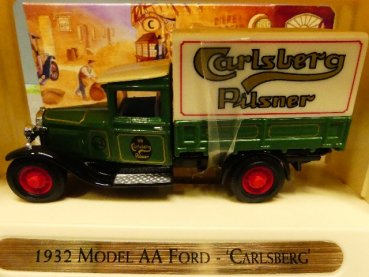 Matchbox Yesteryear Model Ford AA 1932 Carlsberg YGB05