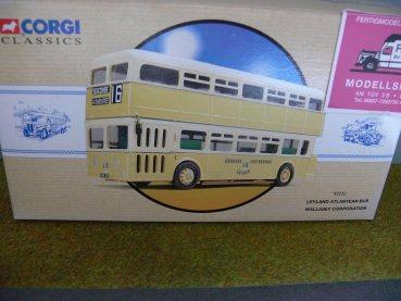 1/50 Corgi Leyland Atlantean Bus Wallasey Corporation 97232