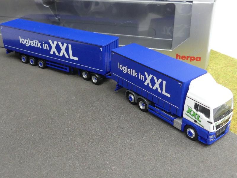 Autos, LKW & Busse Auto- & Verkehrsmodelle 1/87 Herpa MAN TGX XLX Euro6 Logistik in XXL Eurocombi HZ 930178