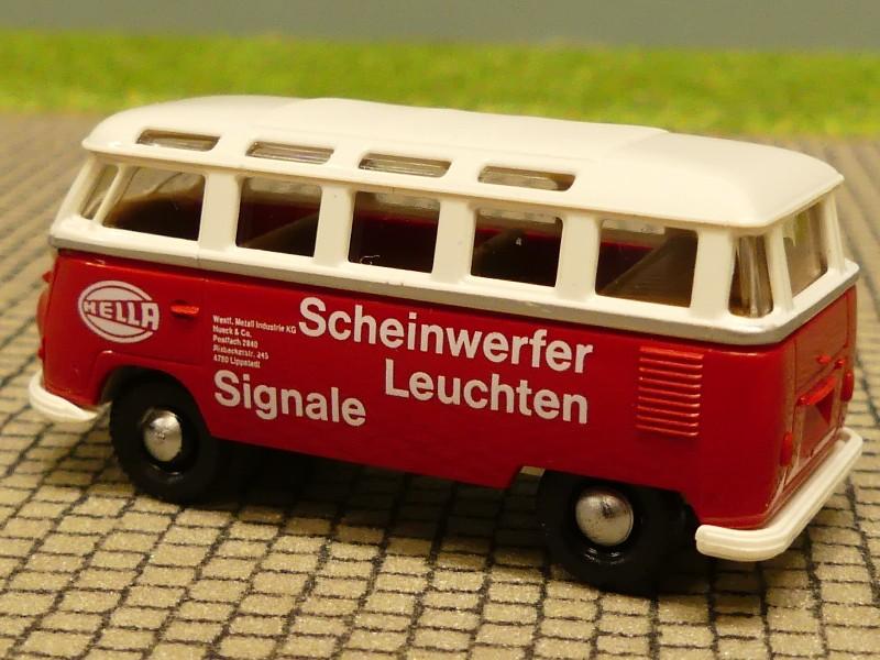1//87 Brekina # 0365 VW T1 Samba Hella Sondermodell Reinhardt