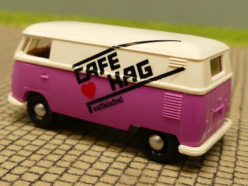 1//87 Brekina # 0398 VW T1 b Kasten CAFÉ HAG 3271