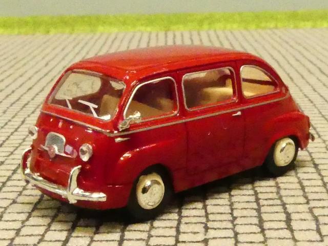 1//87 Brekina Fiat Multipla weinrot 22456 SONDERPREIS 7.99 STATT 10.90