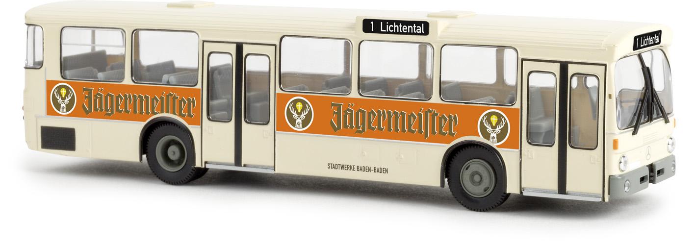 1//87 Brekina MB O 305 Baden-Baden Jägermeister 50764