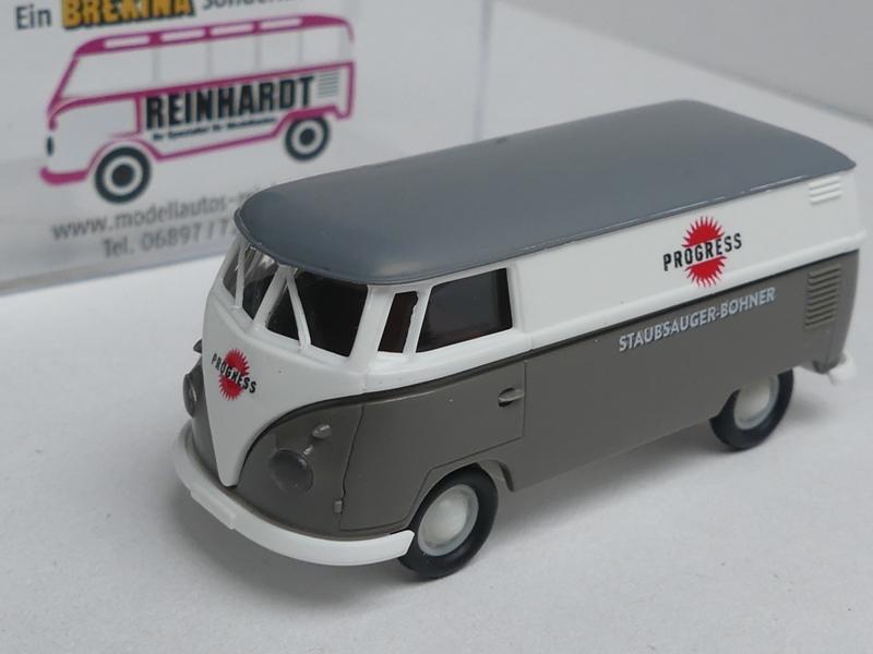 1//87 Brekina # 1946 VW T1 b Progress Staubsauger Sondermodell Reinhardt
