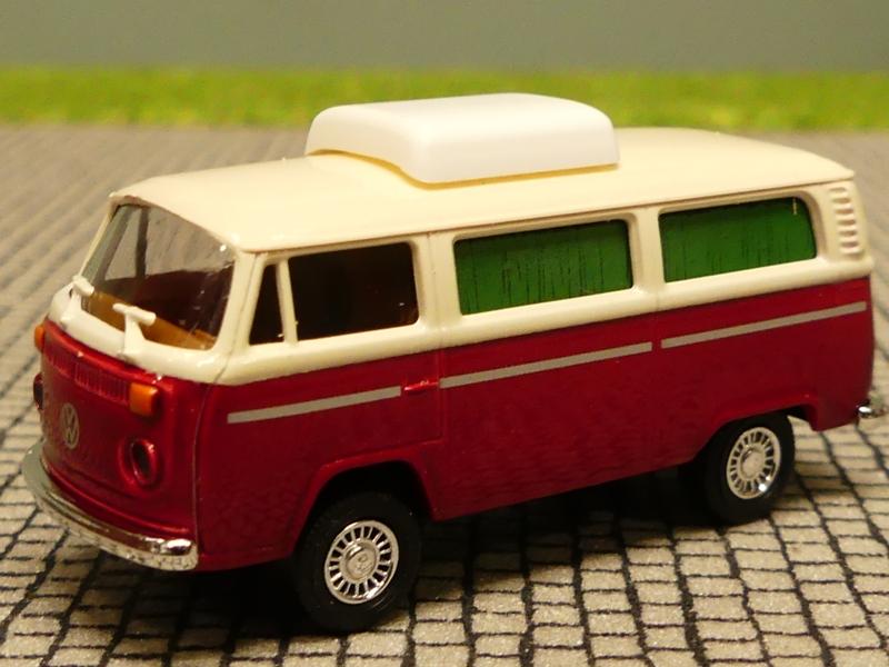 BREKINA POST SET 4x Volkswagen T1 T 1 1:87 gelb Lkw Postauto H0 VW Transporter