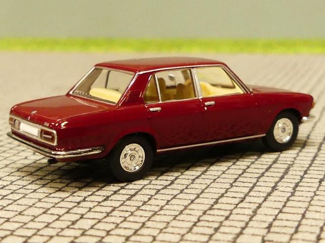 BMW 3.0 Si 13606-1:87 E3 Brekina//Starmada - rot-metallic