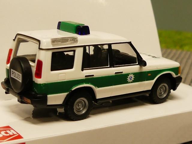 "Land Rover Discovery /"" Carabinieri /"" Busch 51915 Neuf Emballage D/'Origine 1//87"
