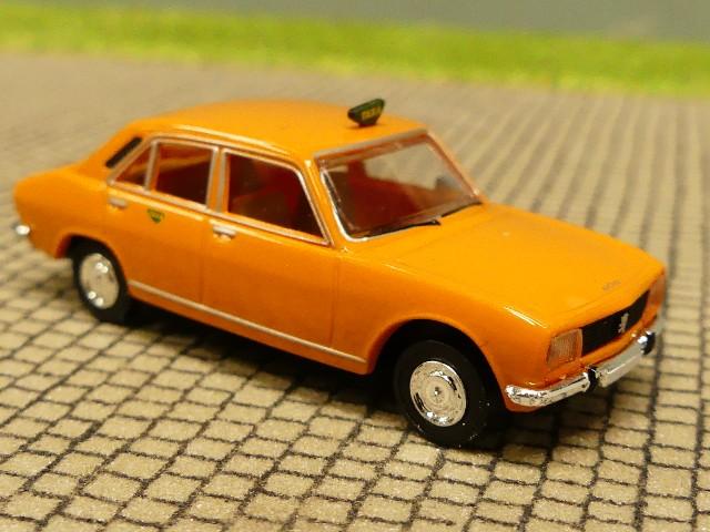 1//87 Brekina Peugeot 504 TAXA DK 29116
