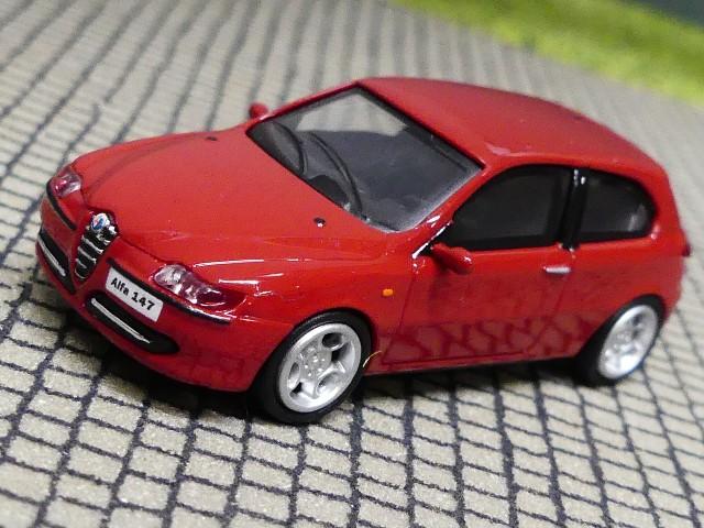 Brekina RICKO NEUWARE! H0,1:87 Alfa Romeo 147 1.9 JTD rot 38311