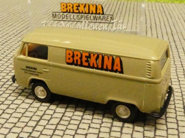 1//87 Brekina VW T2 BREKINA Tag der offenen Tür 2016