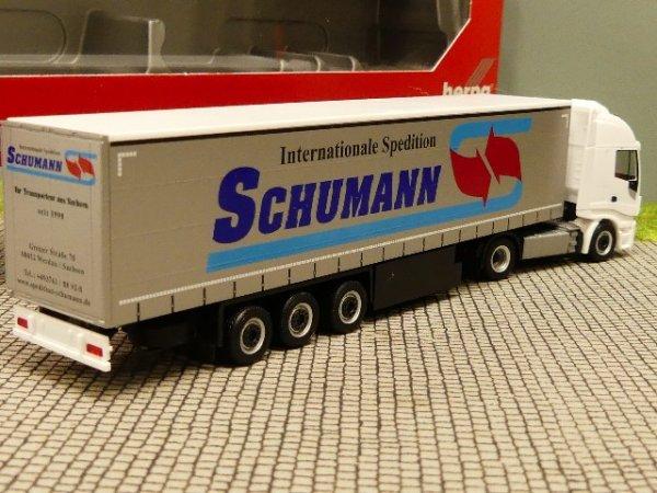 Herpa 310048 Iveco Stralis XP GP-SZ Schumann Werdau Scale 1 87