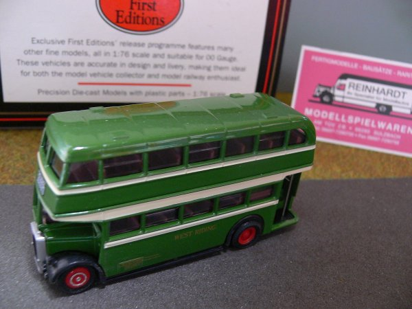 1/76 Gilbow EFE Leyland PD2 Lowbridge West Riding GB 16006