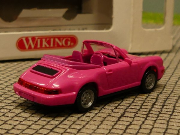 1:87 #13 Wiking 165 14 Porsche Carrera 4 Cabrio in rot mit OVP