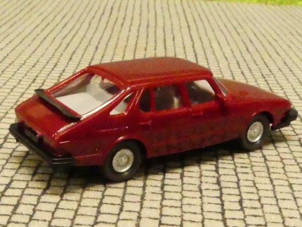 1//87 Wiking Saab 900 Turbo braunrot 215 3 A