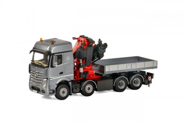1/50 WSI MB Actros Big Space Fassi 1100 + Ballast box 04-1166