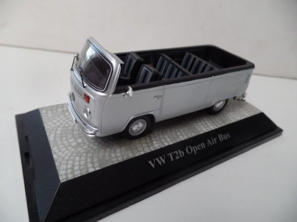 1/43 Premium Classixxs VW T2 Open Air Bus silber 18401