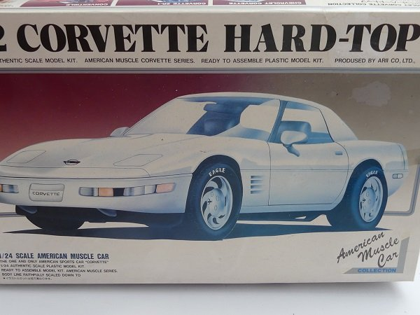 1/24 ARII No:10 92´Corvette Hard-Top 21000