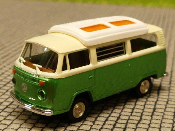 1//87 Brekina VW T2 hellbeige//braun de Lux Bus