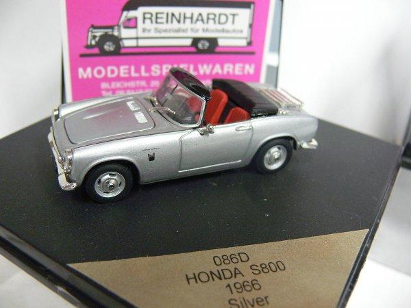 Vitesse 1:43 086C schwarz Honda S800 Cabrio offen 1966