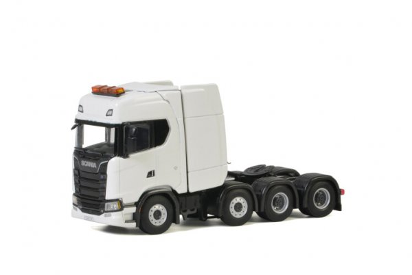 1/50 WSI SCANIA S HIGHLINE CS20H White Line 4-Achs ZM 03-2021