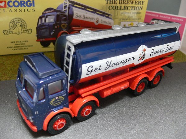 1/50 Corgi Leyland Tanker Set Youngers Brewery GB 24301